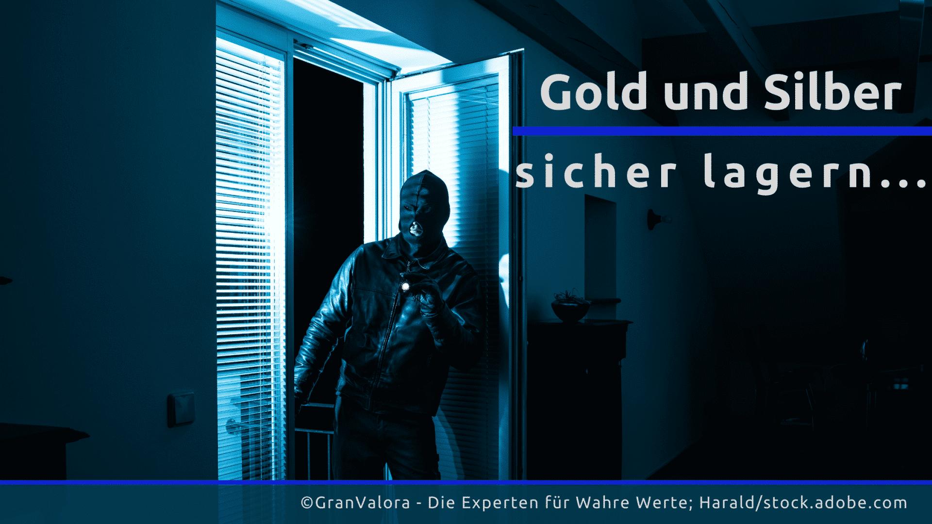Gold und Silber sicher lagern
