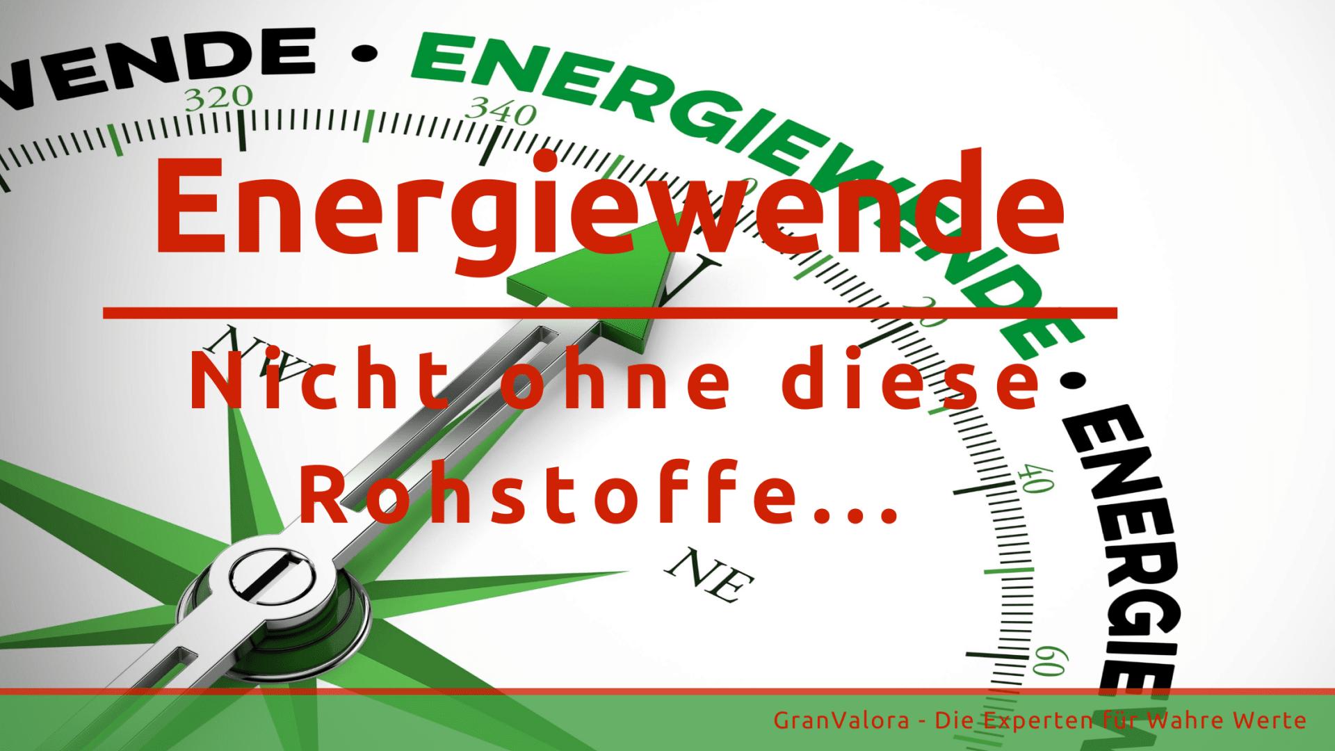 Rohstoffe für die Energiewende: Edelmetalle und Seltene Erden für die grüne Zukunft