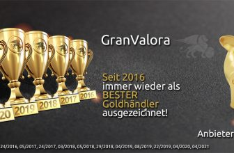 """GranValora im FOCUS-MONEY Goldhändler-Vergleich: """"Sehr gut"""" – in allen Kategorien"""