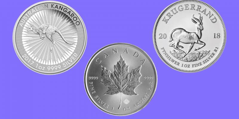Die beliebtesten Silbermünzen